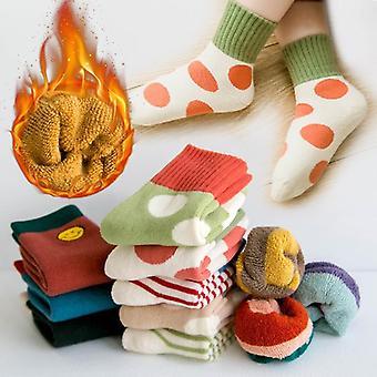 Winter Short, Woolen Thermal Socks