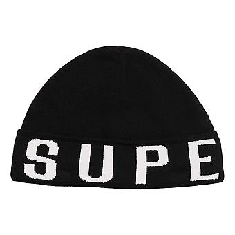 Superdry Urban Logo Beanie - Noir