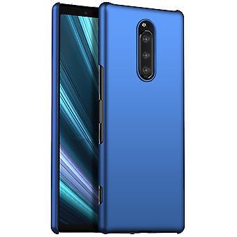 Anti-impact Hard case voor Sony Xperia XZ4/ Xperia 1 Blue kaiqimi-400