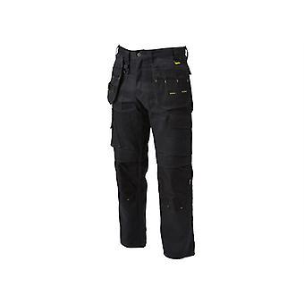 DEWALT Pro Tradesman Black Trousers Waist 30in Leg 31in DEWPROT3031