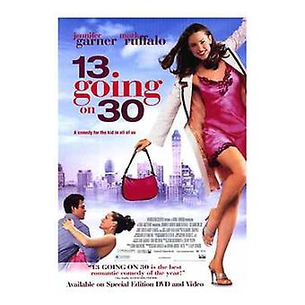 13 going on 30 Movie Poster (11 x 17)
