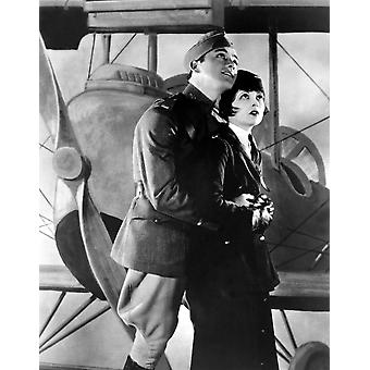 Wings Charles Buddy Rogers Clara Bow 1927 Movie Poster Masterprint