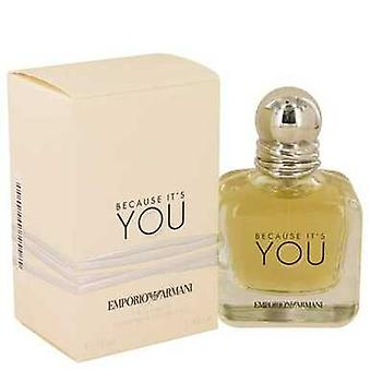 Because It's You By Giorgio Armani Eau De Parfum Spray 1.7 Oz (women) V728-539573