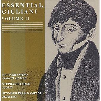 Richard Savino - Essential Giuliani 2 [CD] USA import