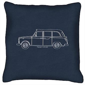 London Taxi Company TX4 Outline Cushion