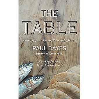 De tafel: Jezus kennen: Gebed, vriendschap, Rechtvaardigheid