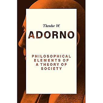 Filozofické prvky teórie spoločnosti