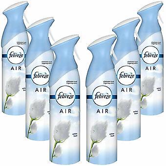 Febreze Air Freshener Cotton Fresh, Pack of 6 300ml