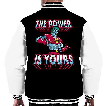 The Power Is Yours Planet And The Planeteers Men's Varsity Jacket