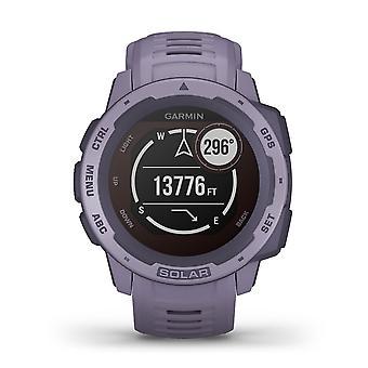 Garmin 010-02293-02 Instinct Smartwatch Solar GPS Relógio Bluetooth de silicone de orquídea
