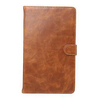 Leather Anti-fall case for Samsung Galaxy Tab A 8.0 T350 T355 Orange