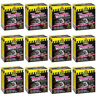 Sparset: 12 x COMPO Cumarax® mice bait cereal, 80 g + 1 bait box