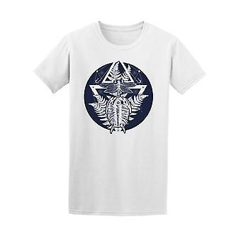 Paläontologie Tattoo Kunst T-Shirt Herren-Bild von Shutterstock