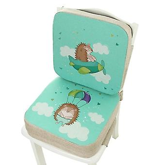 Portable Chair Pad, Adjustable Furnitur, Booster Seat For Dining Cushion, Pram