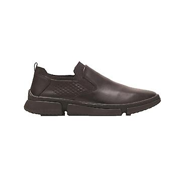 Hush Puppies Mens Bennet Leather Shoes