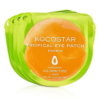 KOCOSTAR Tropical Eye Patch Unscented - Papaya (Individually packed) (Exp. Date 04/2021) 10pairs