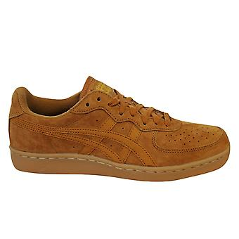 Asics Onitsuka Tiger GSM Lace Up Unisex Trainers Caramel Suede D5K1L 3131 B3C
