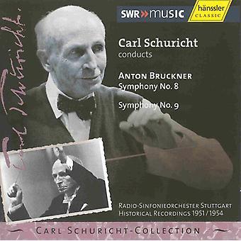 A. Bruckner - Bruckner: Symphony No. 8 & 9 [CD] USA import