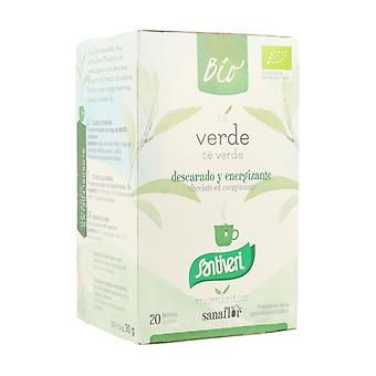 Sanaflor Green Tea Infusion 20 units (Mint)
