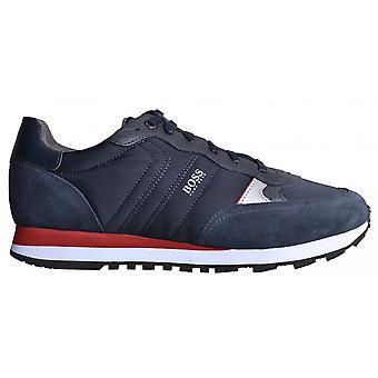 Hugo Boss Footwear Hugo Boss Men's Dark Blue Parkour Runn Mx Trainers