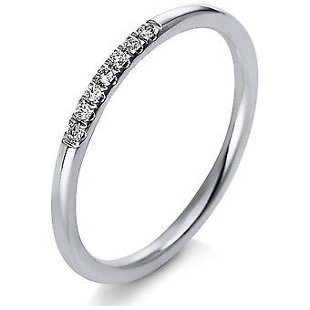 Luna Creation Leger Ring Multistone Trim 1Q766W854-1 - Largura do anel: 54