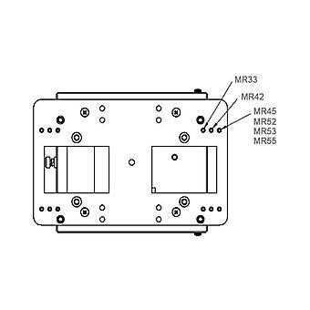 Adapter Plate for Meraki APs