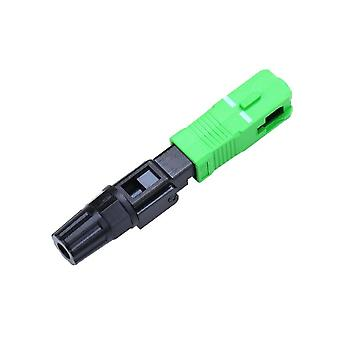 Single Mode Fiber Optic Fast Connector Quick Connector Sc Adapter Field