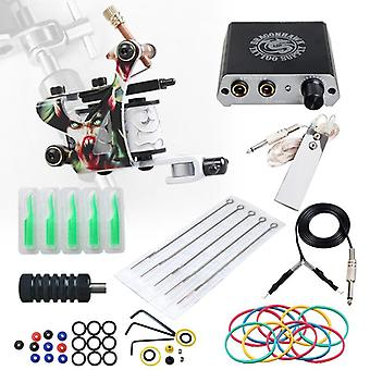 Beginner Complete Tattoo Kit Machines Gun