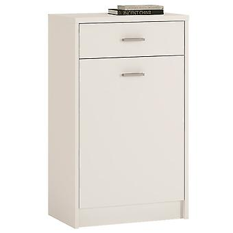 Yours White 1 Drawer 1 Door Cabinet