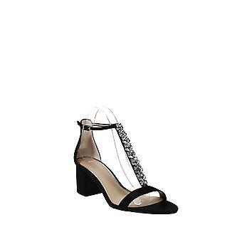 Jewel by Badgley Mischka | Lindsey Embellished Satin Sandals