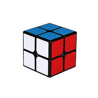 2x2 Magic Cube 50mm Speed Pocket Sticker Puzzle Professional Educational