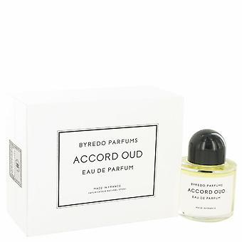 Byredo Accord Oud Eau De Parfum Spray (Unisex) By Byredo 3.4 oz Eau De Parfum Spray