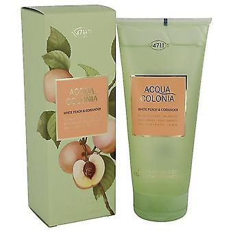 4711 Acqua Colonia White Peach & Coriander Gel douche Par 4711 6,8 oz Gel douche
