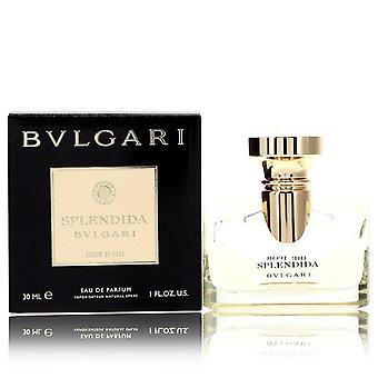 Bvlgari Splendida Iris D'or Eau De Parfum Spray By Bvlgari 1 oz Eau De Parfum Spray