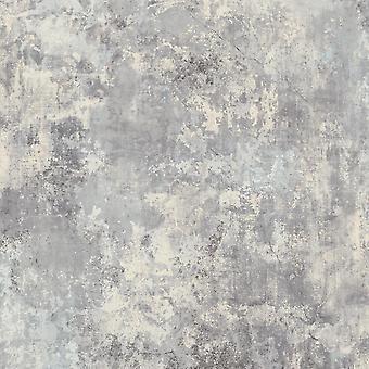 Plaster Light Grey Wallpaper