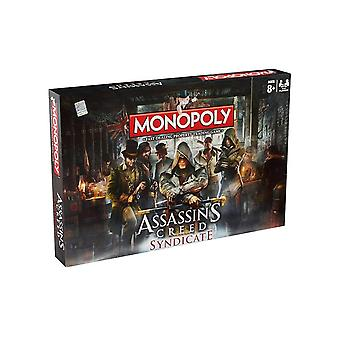 Monopoly assassin's creed syndicate board game