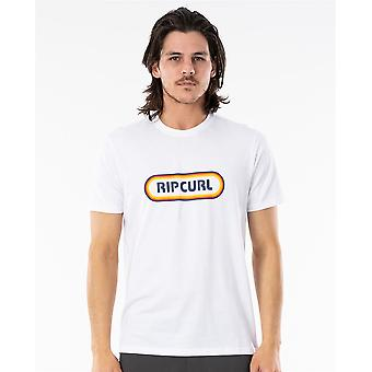 Rip Curl Hombres's Camiseta ~ Surf Revival blanco