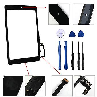 Touch Screen Digitizer Sensor + Home Button + Flex Adhesive + Reparatie Tools,