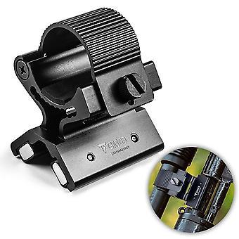 Universal magnetic flashlight mount magnet holder for 23-26mm/0.9-1.0in diameter