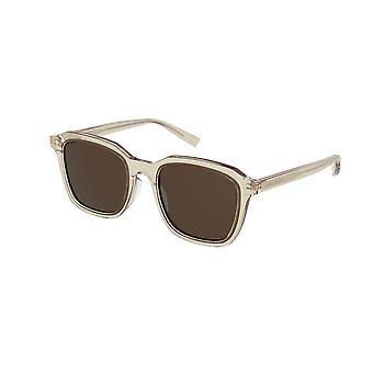 Saint Laurent SL 457 004 Yellow/Brown Sunglasses