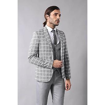 Tarkastetaan miesten #039;harmaa puku