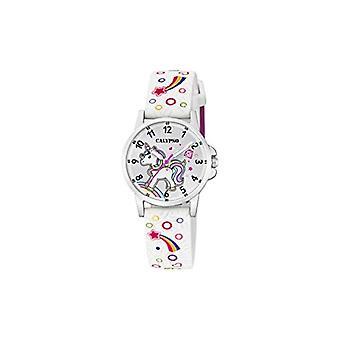 Calypso Watches Analog Watch Quartz Unisex Children with Plastic Strap K5776/4
