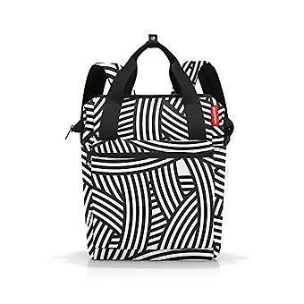 Reisenthel Allrounder, Unisex-Adult Hand luggage, Black and White, R