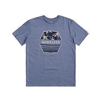 Quiksilver Drift Away Kort ärm T-shirt i Stone Wash