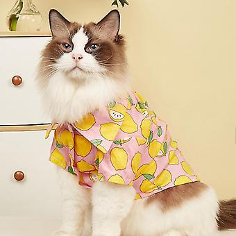 Pet clothing summer cat clothes cute dog shirt