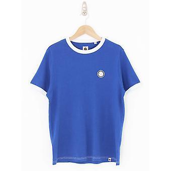 Pretty Green Milford Ringer T.Shirt - Blue