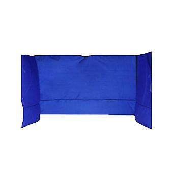 Canopy Sunwall Sunshade Painel de privacidade para Gazebos Tenda Impermeável Sun Shade Side Acessório para Bloquear o Vento solar e chuva 1 Pack Sidewall Somente