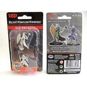Dungeons & Dragons Nolzurs underbara omålade miniatyrer (W9) - Kvinnlig alv Paladin