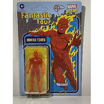 Marvel Legends Fantastiska Fyra Mänskliga Touch Kenner Hasbro F2655
