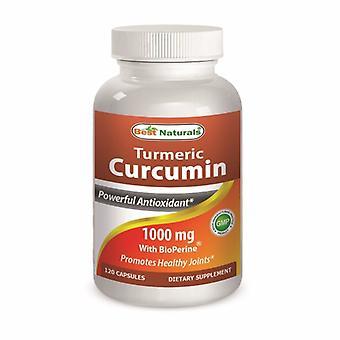 Best Naturals Turmeric Curcumin, 1000 mg, 120 Caps